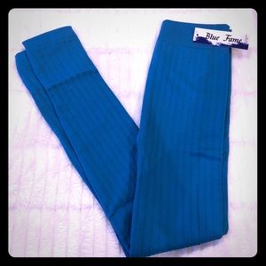 Aqua Fleece Lined Leggings